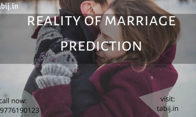 Marriage prediction: A step towards healthy marriage life