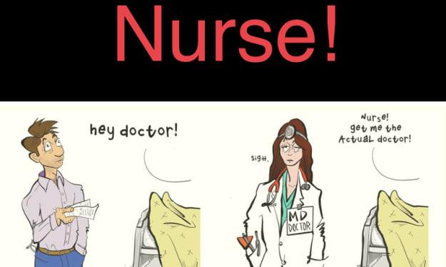 I Am Not A Nurse!