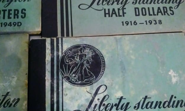 Coin Collector: 1932- 1947 Liberty Standing Half Dollars