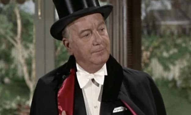Maurice Evans' spectacular character on 'Bewitched'