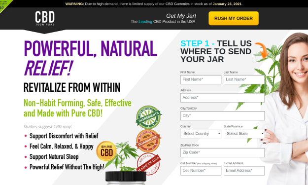 CBD Gummy – Reviews, Benefits, Official Price, CBD is Legal or Not.