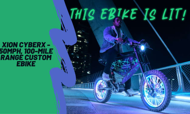 XION CyberX - 50MPH, 100-Mile Range Custom eBike