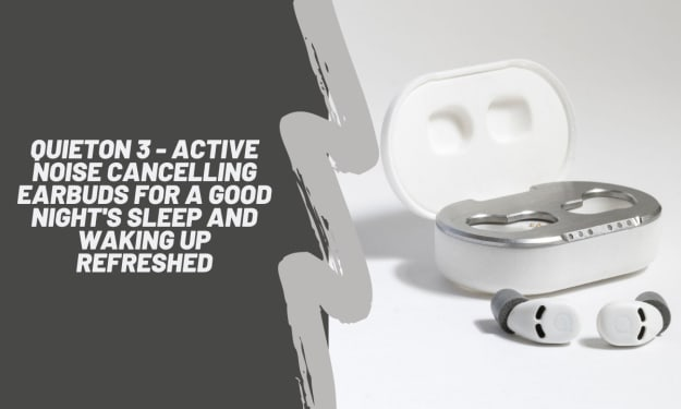 QuietOn 3 - The Smallest ANC Earbuds For Sleeping
