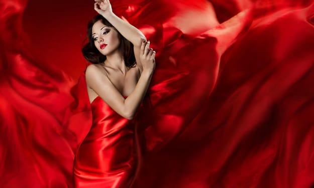 The Crimson woman