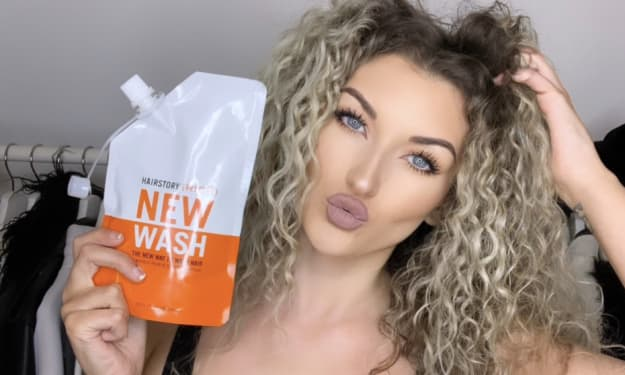 I Replaced My Shampoo With This New Hair Wash for 30 Days