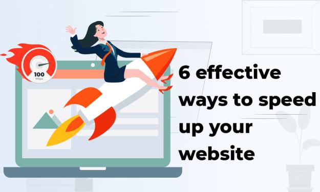 6 effective ways to speed up your website