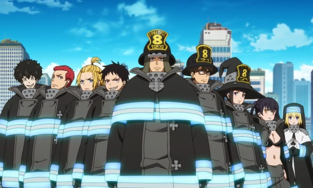 Fire Force Background