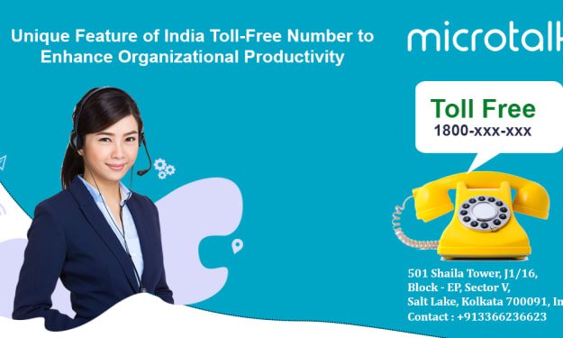 Unique Feature of India Toll-Free Number to Enhance Organizational Productivity.