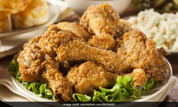 Tasty kfc chicken