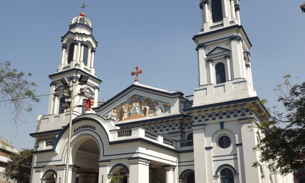 The Cathedral of the Most Holy Rosary...