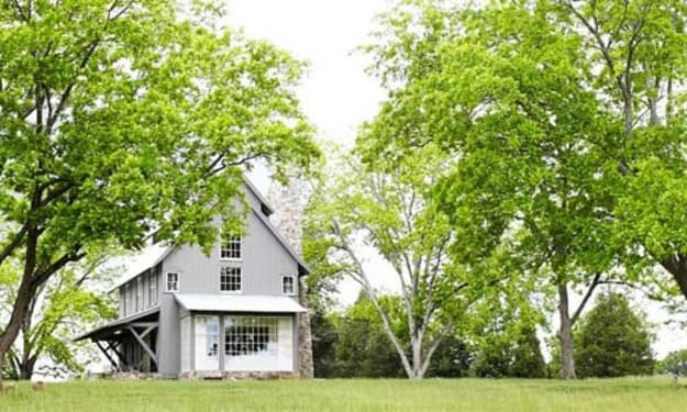 Farmhouse mishap