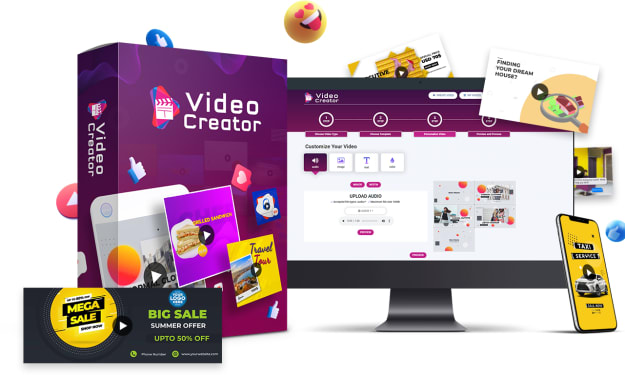 VideoCreator Review ⚠️Warining⚠️ Don't Buy VideoCreator Without My CUSTOM BONUSES!!