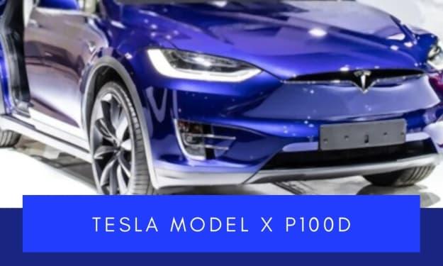 Tesla Model X P100D Test Drive Review