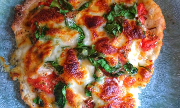 Homemade Pizza, the Healthy Way
