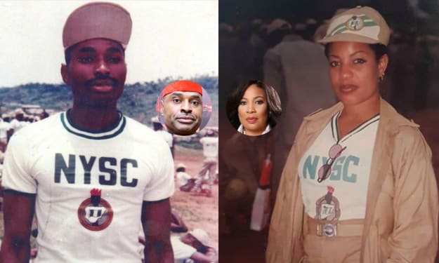 13 Nigerian Celebrities Share NYSC Throwback Pictures.