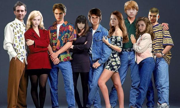 90s Fashion Would Make Harry Potter So Much Better