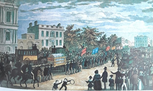 Chartism: a 19th century British political movement
