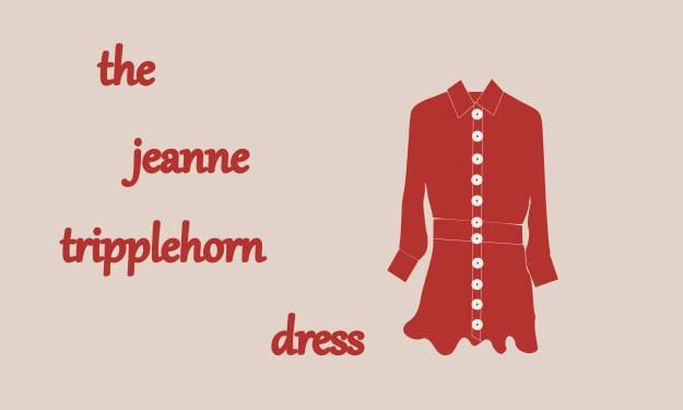 The Jeanne Tripplehorn Dress