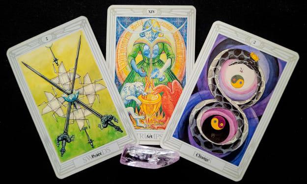 Free Reading #18 for 2021  Mirror Dragon Tarot