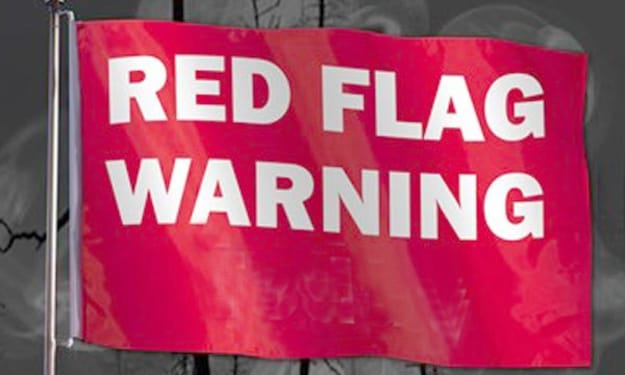 Top 24 Red Flags to NEVER Ignore!