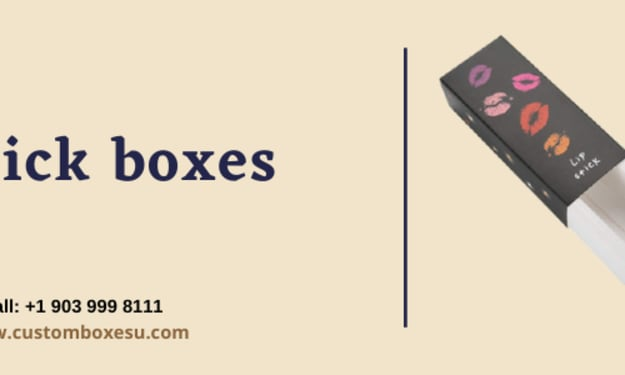 Lipstick Boxes with Printed logo & Design in USA