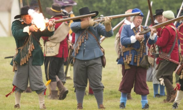How matchlock weapons worked
