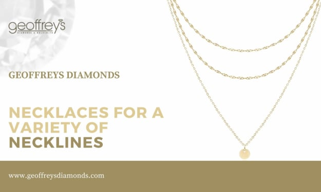 Necklaces for a variety of necklines