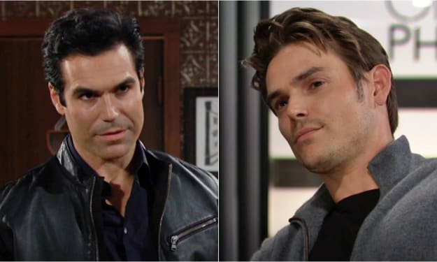 Adam and Rey face off on 'The Young and the Restless'