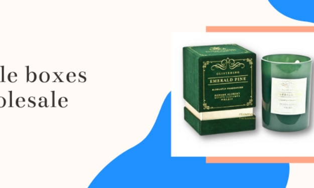 Get candle boxes Wholesale at Best Price in UK