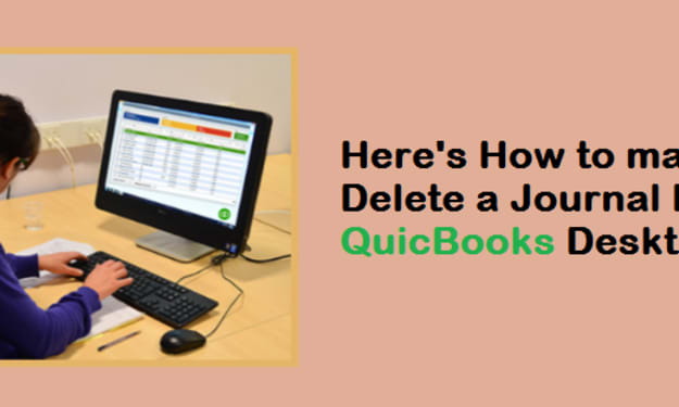 Create or Delete a Journal Entry in QuickBooks