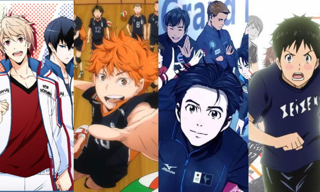 My Top 3 Anime Sports that I love!