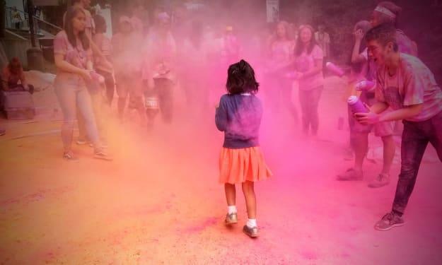 Color me pink!