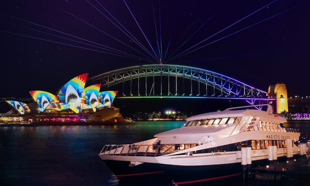 Experience the Best of Sydney's Festival of Lights, Music and Ideas