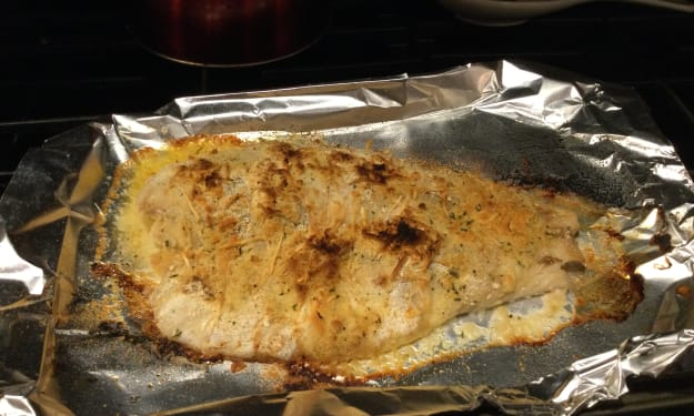 Baked Grouper in a Snap