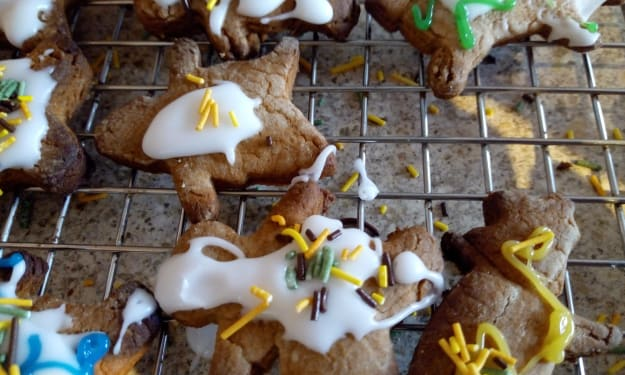 Perfectly imperfect gingerbread creations