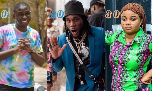 7 Nigerian Celebrities Clocking 30 This Year