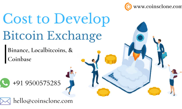Building a Cryptocurrency Exchange like Binance, Localbitcoins, or Coinbase? - Know how much does it cost?