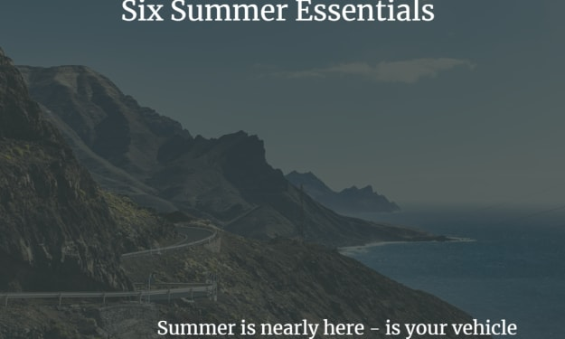 Six Summer Essentials