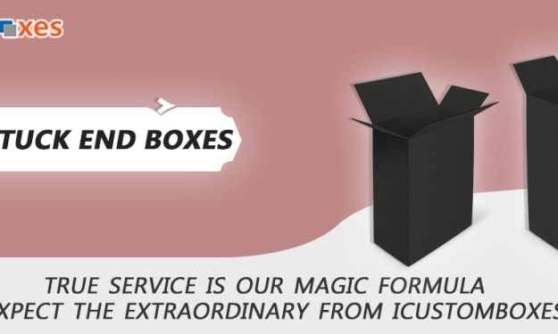 Get Fine Reverse Tuck End Boxes At A Very Good Price
