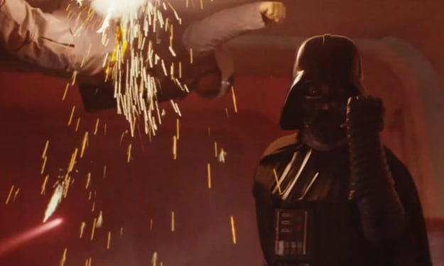 Why Does Darth Vader Seem So Much More Powerful In 'Rogue One' Than In 'A New Hope?'