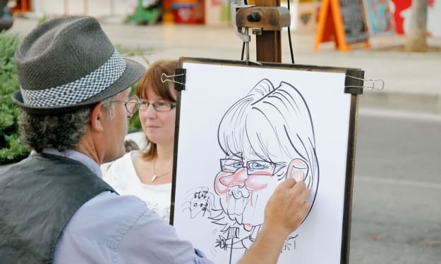 7 Things Your Caricature Artist Wants You to Know