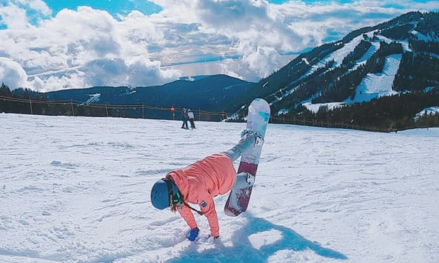 How to get better at snowboard as a woman