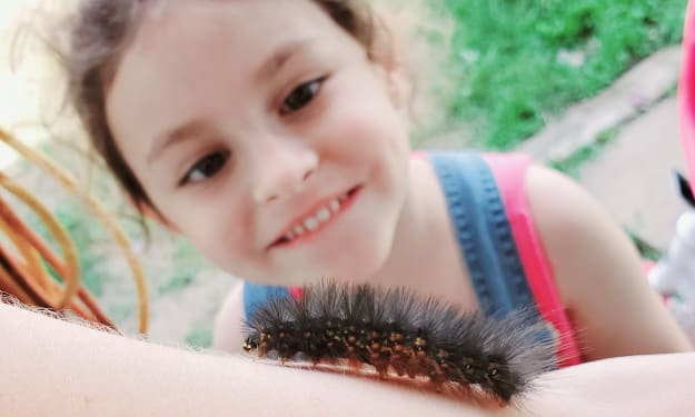 The Friendly Fuzzy Caterpillar