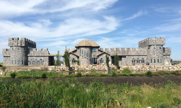 Building a Castle in Alberta