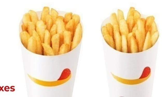 Charming French Fry Containers easy to hold, how can you buy