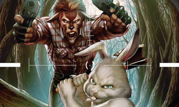 Man Goat & The Bunnyman #2