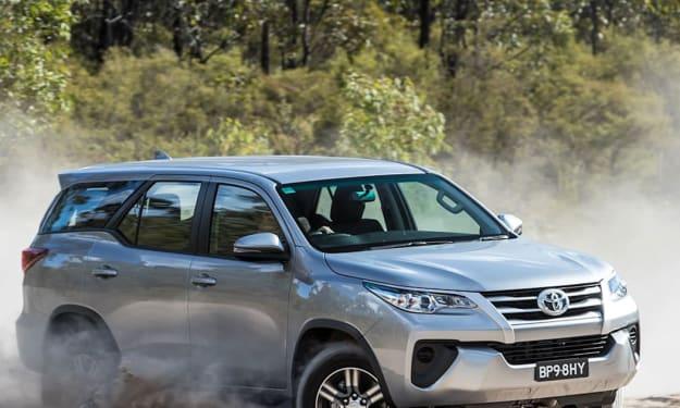 Spy Shots of 2022 Toyota Fortuner