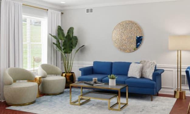 Simple Interior Design Ideas for Living Room