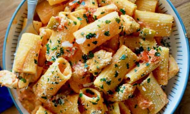 American Pasta Dishes
