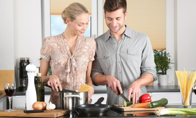 How cooking with my partner has become my favourite time of the day